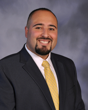 Scott Middle School Principal, Marco Pedroza